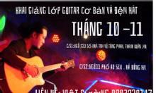Khai giảng lớp dạy Guitar