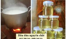 Công dụng của dầu dừa nguyên chất
