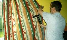 Giặt thảm; màn cửa, rèm cửa, vệ sinh nhà ở...
