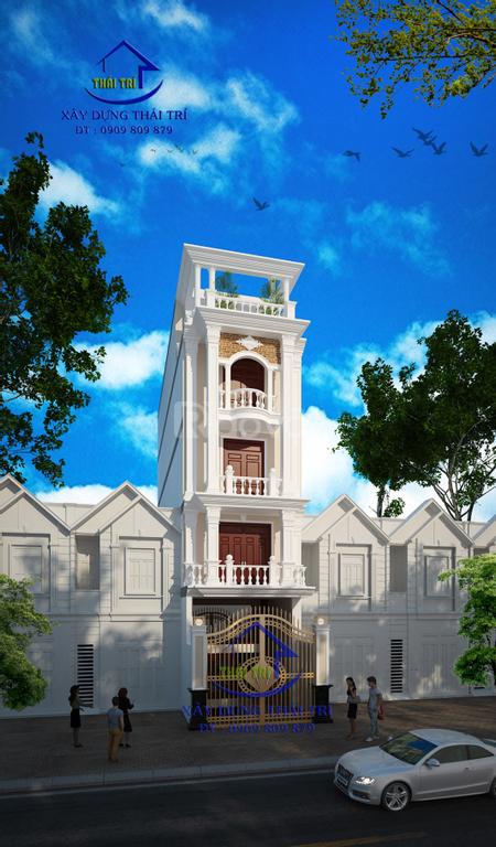 Thiết kế nhà phố, biệt thự, giá rẻ, đẹp, quận 12