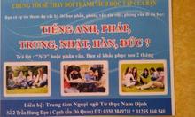 Học tiếng Nhật, Anh, Hàn, Trung tại Nam Định