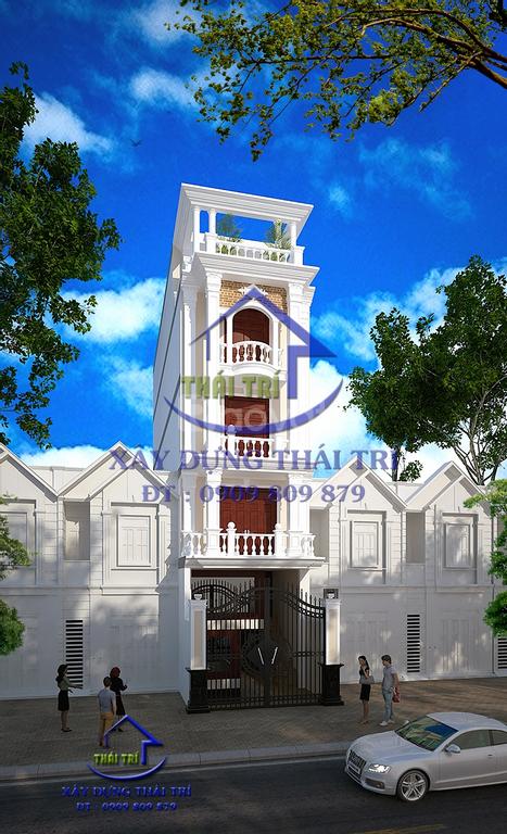 Thiết kế Nhà phố, biệt thự, vẽ phối cảnh 3D, TPHCM