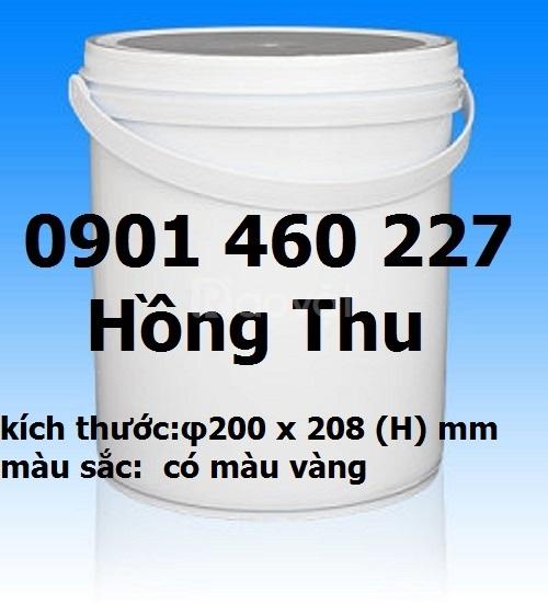 Thùng nhựa 3.5 l, 4l, 4.5l, 5 lít giá rẻ