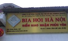 Phân phối bia hơi Hà Nội tại Vĩnh Phúc và Mê Linh