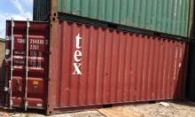 Thùng container cũ 20 feet chở hàng hóa