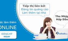 PushSale.vn tuyển Cộng tác viên kinh doanh online