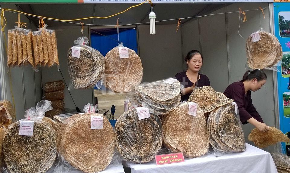 Đặc sản bánh đa Kế - Bắc Giang