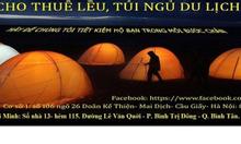 Cho thuê lều trại du lịch - phụ kiện du lịch
