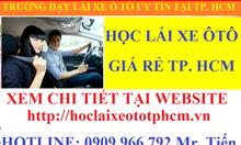 Học Lái Xe Ô Tô Giá Rẻ Tại TPHCM