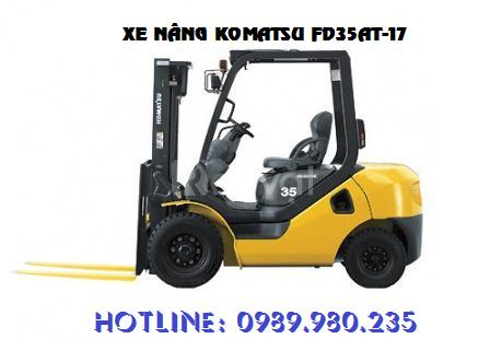 Bán và cho thuê xe nâng Komatsu chính hãng