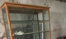 Thanh lý tủ kính 6 tầng kính cường lực 8 ly