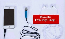 Micro hát Karaoke dành cho điện thoại di động