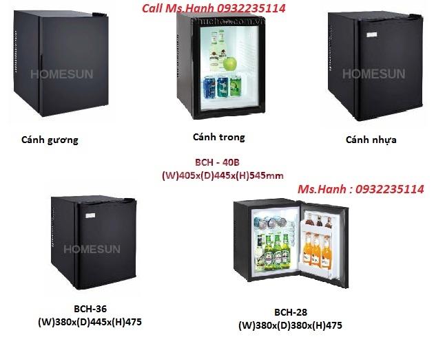 Tủ mát mini, Tủ lạnh khách sạn,Minibar Homesun