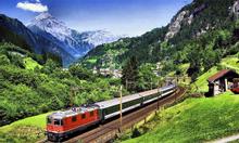 Vé tàu hỏa  Châu Âu