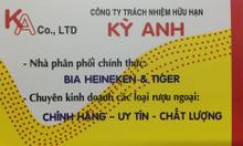 Mua Bia Heineken, Tiger giá tốt nhất TPHCM