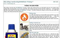 Sản phẩm dầu đa năng Mckenic 9 ín 1