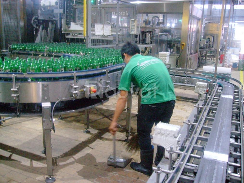 Vệ sinh nhà máy thực phẩm, kho xưởng