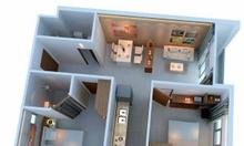 Bán căn hộ Ehome 3, có nội thất, 900 triệu.