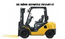 Xe nâng Komatsu mới và đã qua sử dụng