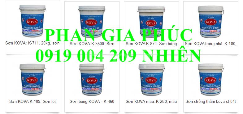 Sơn nước Kova giá rẻ