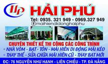 Lắp đặt mái xếp, mái che sân trường tại Đà Nẵng