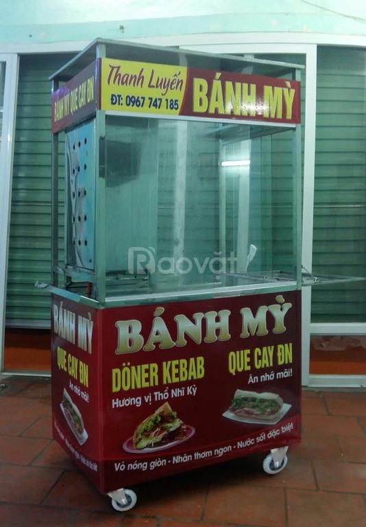 Bán xe bánh mỳ Doner kebab đã qua sử dụng 6 tháng
