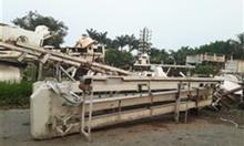 Thanh lý các vật tư  phục vụ sản xuất viên gỗ nén.