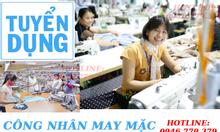 Tuyển gấp công nhân may tại Thuận An Bình Dương