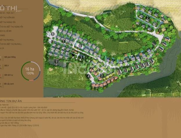 Chỉ 950tr sở hữu ngay biệt thự Park Hill 380m2