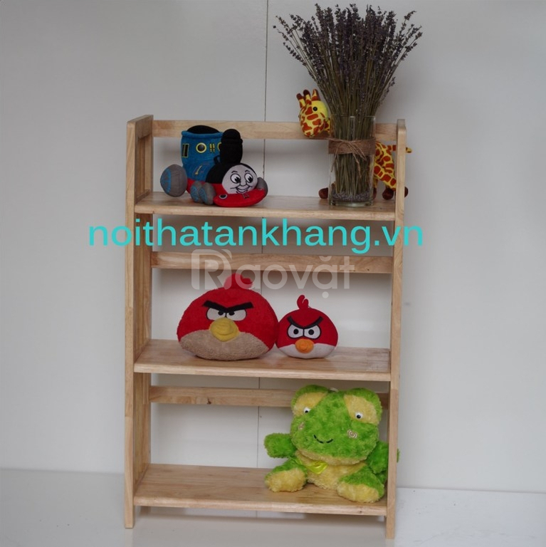 Kệ sách gỗ An Khang