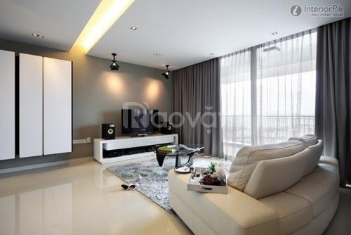 Làm sáng bừng không gian phòng khách với Rèm Cửa