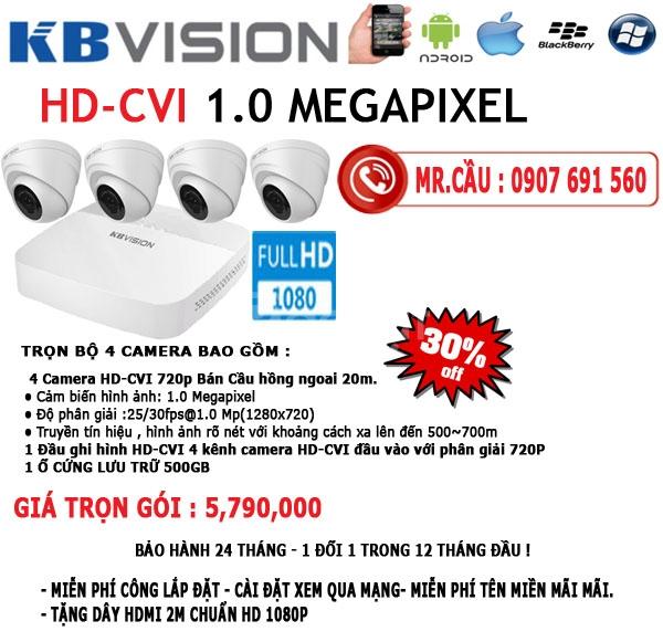 Lắp đặt Camera quan sát Quận Bình Tân giá rẻ