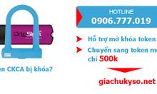 Token Chữ Ký Số CKCA bị khóa mã Pin - CA2: 500K