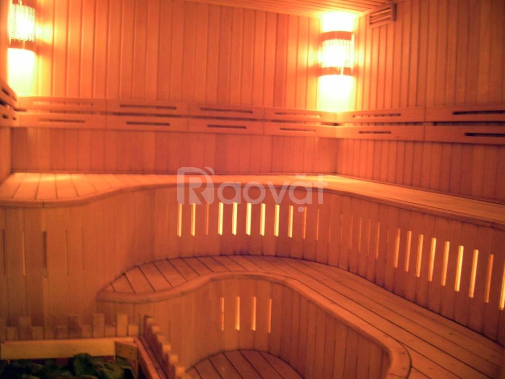 Bồn tắm, thiết bị bể bơi và phòng xông hơi