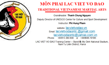 Vietnamese martial arts LAC VIET VO DAO