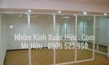 Báo giá vách ngăn khung nhôm kính tại Tân Bình