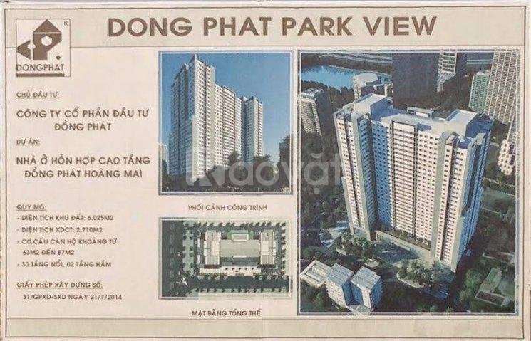 CC Đồng Phát Park View chỉ 299 triệu sở hữu ngay