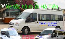 Xe tốc hành đi Hà Tiên -Nhà xe Thái Dương Express