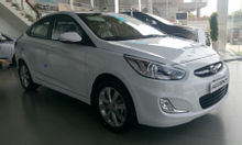 Hyundai Accent Blue 1.4 AT Sedan 2016.