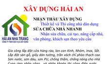 Xây dựng và sửa chữa nhà tại Nha Trang 0935016887