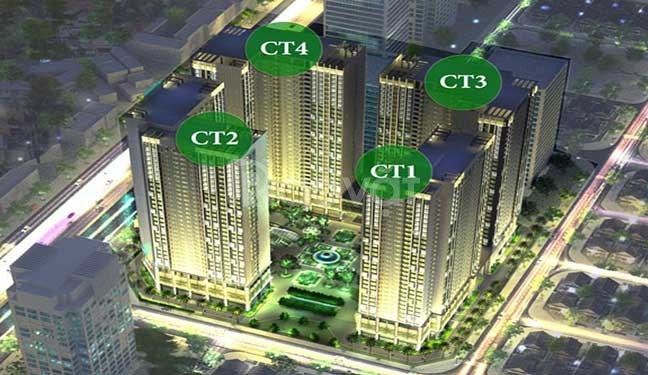 Bán CT2 - Eco Green City giá chỉ từ 1,65tỷ/ căn