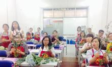 Khóa học dạy cắm hoa uy tín số 1- học phí cực thấp