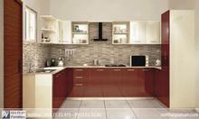 Tủ bếp gỗ công nghiệp đẹp tại nội thất gia tuấn