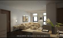 Thiết kế nội thất căn hộ hiện đại cho thuê
