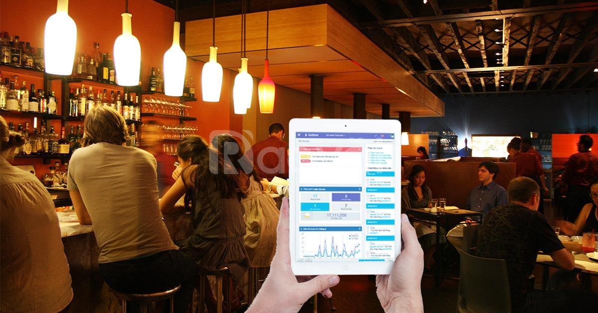 Phần mềm quản lý nhà hàng, quán ăn Gostore