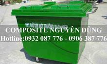 Thùng rác Công nghiệp Composite 660 lít