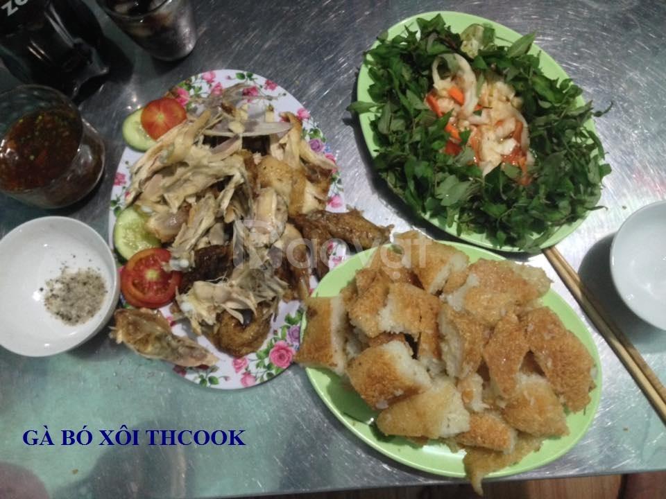 Gà bó xôi Đà Nẵng - Thcook 0935 517 449