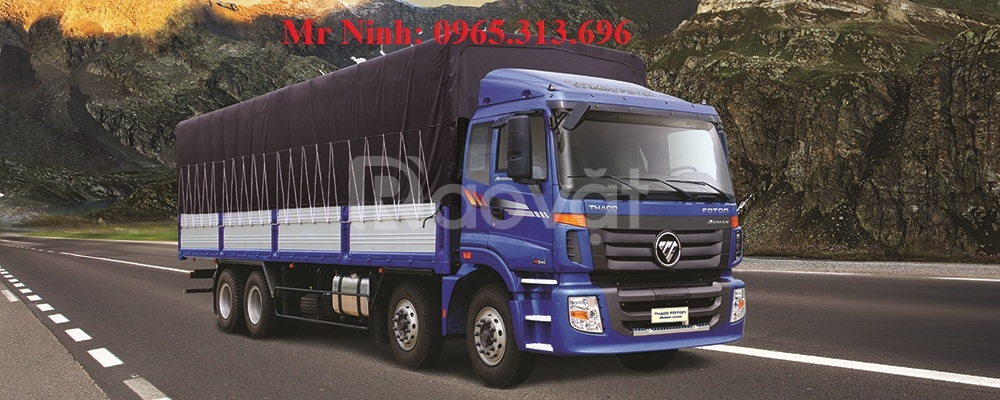 0965313696 Bán Xe tải Thaco Auman 3 chân 4,5 chân