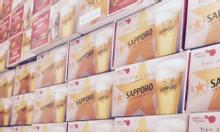 Bia SAPPORO_Nhật.280k/th giảm 100k so với siêu thị