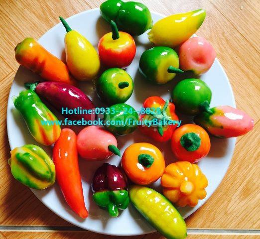 Bánh trái cây đậu xanh ở Hà Nội